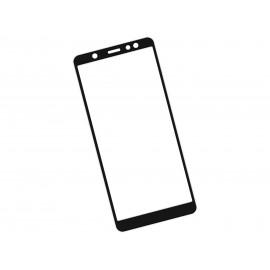 Zaokrąglone szkło hartowane 3D do telefonu Samsung Galaxy A6 2018 - kolor CZARNY