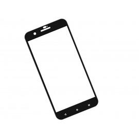 Zaokrąglone szkło hartowane 3D do telefonu HTC X10 - kolor CZARNY