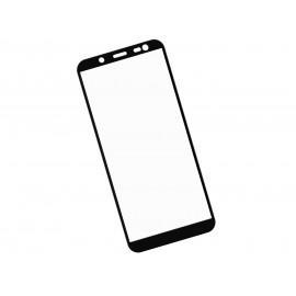 Zaokrąglone szkło hartowane 3D do telefonu Samsung Galaxy J6 2018 - kolor CZARNY