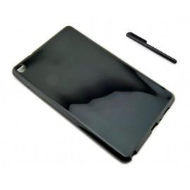 CZARNE elastyczne etui do tabletu Samsung Galaxy Tab A 8.0 2019 P200 P205 SM-P200