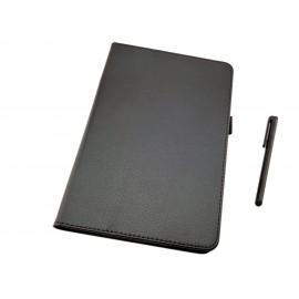 CZARNE etui zamykane (książkowe) do tabletu Apple iPad mini 4 (7,9 cala)