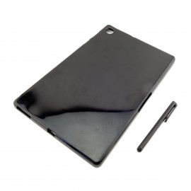 CZARNE silikonowe  etui na tablet  Lenovo Tab M10 FHD Plus 10.3 TB-X606F TB-X606X