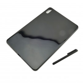 CZARNE silikonowe  etui na tablet Huawei Matepad 10.4 BAH3-AL00 BAH3-W09