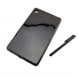 CZARNE silikonowe etui do tabletu Lenovo Tab M7 7 cali