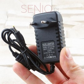 Ładowarka sieciowa, do gniazdka do tabletu 5V 2A (2000mA) – wtyk 2,5mm